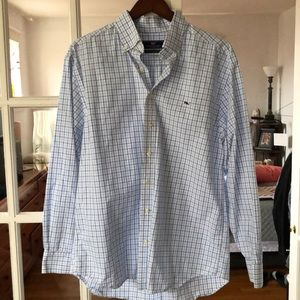 Vineyard Vines Men's LS  Button Down Shirt L